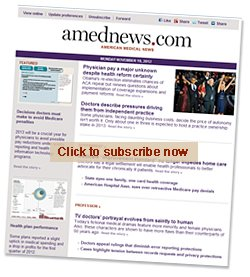amednews alert in browser